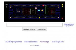 Pacman on Google.com