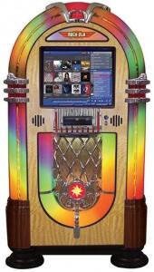 rock-ola jukebox