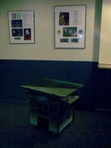customised arcade machine