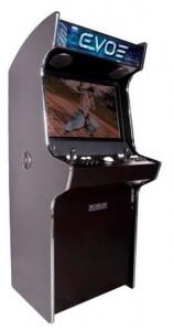 Evolution Arcade Cabinet showing Street Fighter