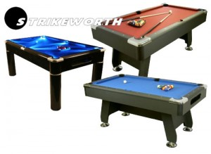 Pool tables for Christmas delivery