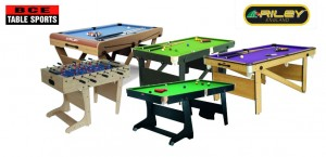 BCE Games Tables