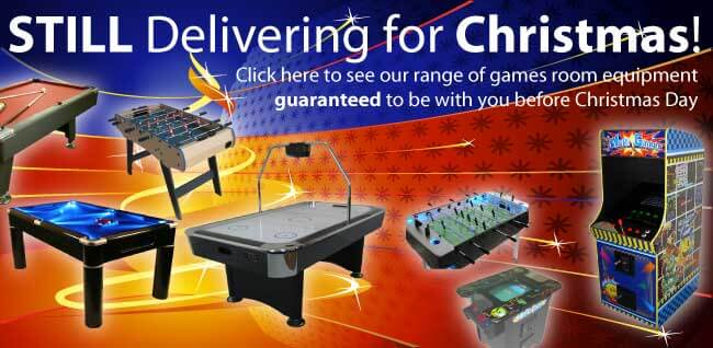 Still delivering games room equipment for Christmas