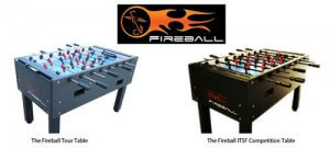 Fireball Football Tables