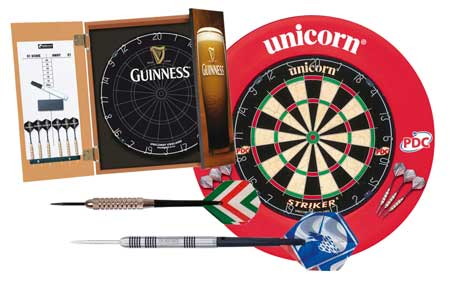 Some our collection of darts & dart boards