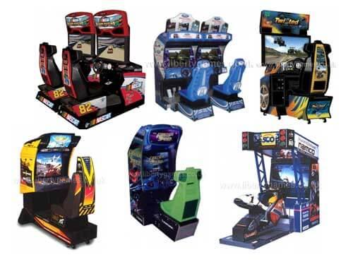 Driving Arcade Machines