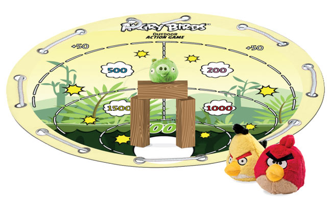 Angry Birds Outdoor Game Board