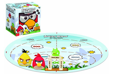 Angry birds outdoor actions