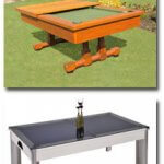 Some example of our range of outdoor pool tables