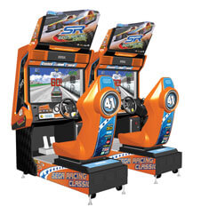 SEGA Racing Classic Arcade Machine