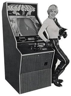 SEGA Moto Cross Arcade Machine