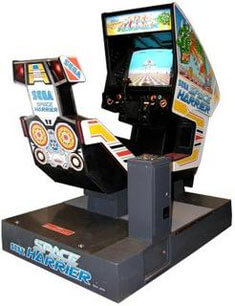 SEGA Space Harrier Arcade Machine