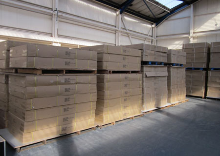 Boxed Pool Tables In WarehouseBoxed Pool Tables In Warehouse