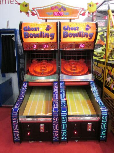 Pac-Man Ghost Bowling