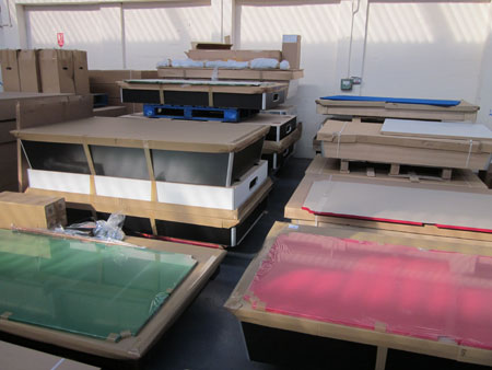 Slate Bed Pool Table Components