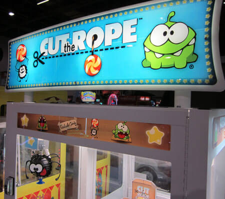 Cut The Rope Claw Grabber