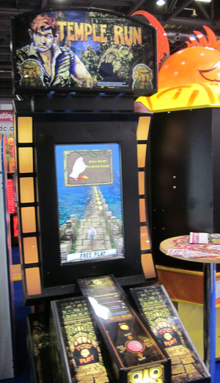 Temple Run Arcade Machine