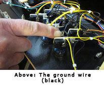 Arcade Button Ground Wire