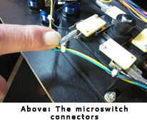 Arcade Microswitch Connectors