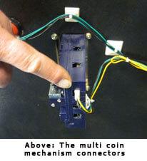 Arcade Multi Coin Mechanism Connectors