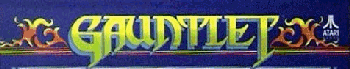 Gauntlet Arcade Marquee