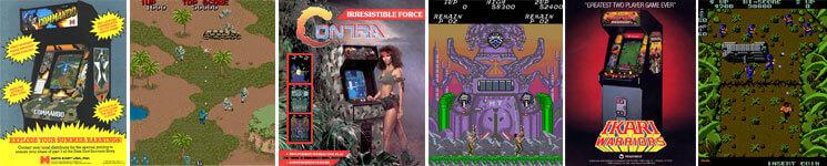 Run & Gun Arcade Games