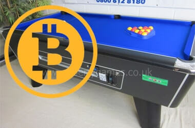 Bitcoin Pool Table