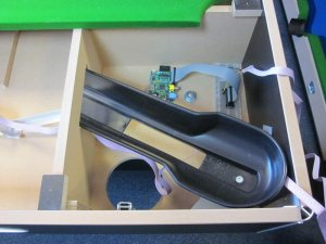 Raspberry Pi in Pool Table