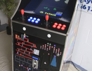 Arcade Cabinet & Bitcoin Payment