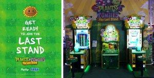 Plants vs Zombies Last Stand Arcade Machines