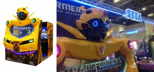 Transformers Human Allicance Arcade Machine