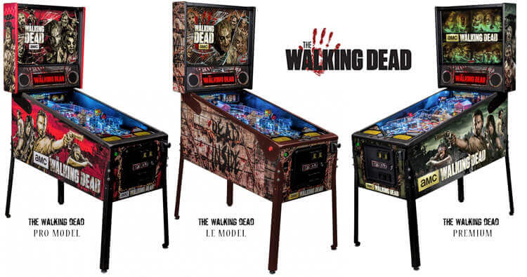 Walking Dead Pinball Models