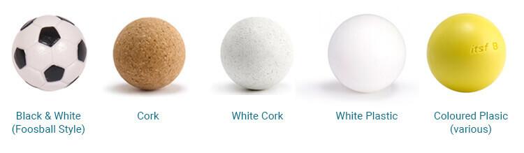 Table Football Ball Types