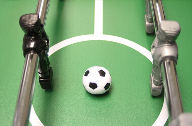 About table football balls