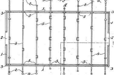 An extract from the original foosball table patent