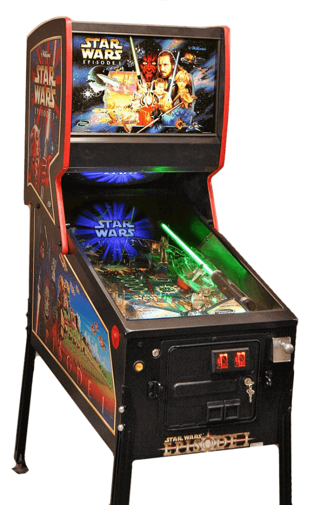 The Pinball 2000 Star Wars: Episode 1 Pinball Machine