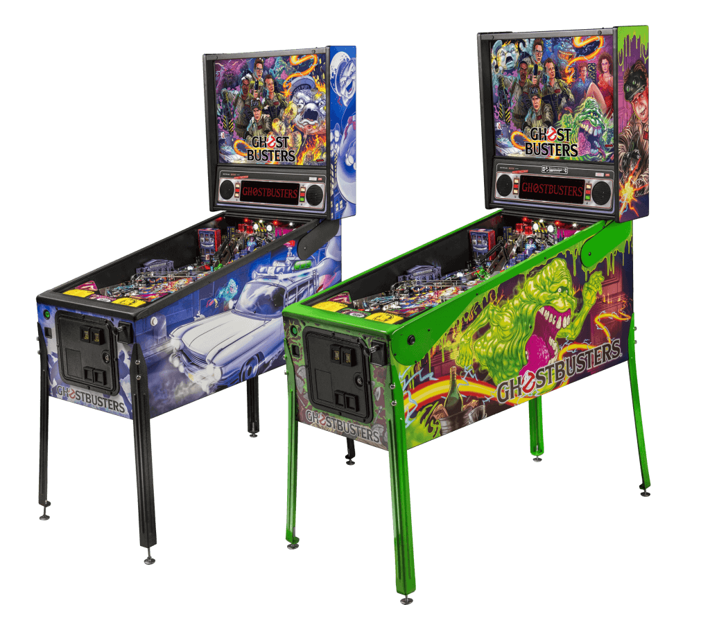 The Stern Ghostbusters Limited Edition and Premium pinball machines