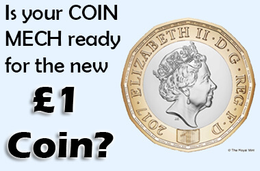 Is Your Coin Mech Ready for the New Pound Coin? - Liberty Games Blog