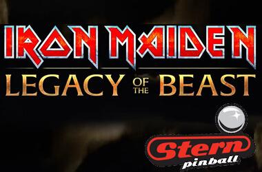Iron Maiden pinball logo