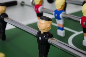 Kim Jong-Un foosball player