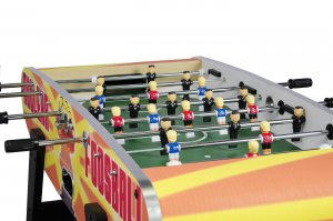 The Kim & Trump players on the Nuclear Foosball