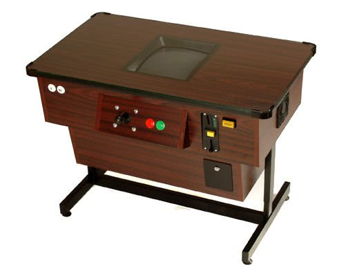 A multiplay arcade coffee table machine