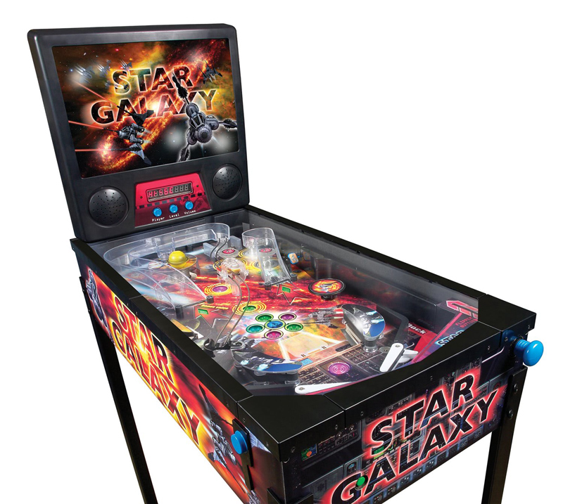 The Star Galaxy pinball machine.