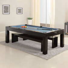 The Phoenix Solid Wood 7ft Slate Bed Pool Dining Table
