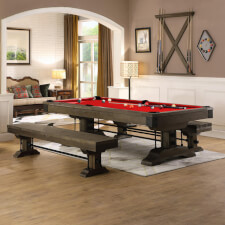 The Pureline Carolina II 8ft American Slate Bed Pool & Dining Table
