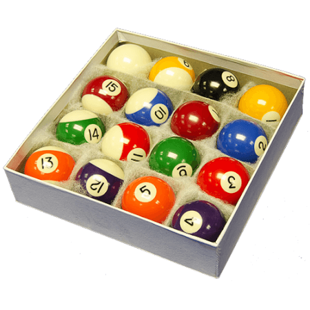 Strikeworth Competition 2'' Spots & Stripes Pool Balls