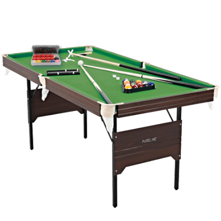 Pureline 6ft Folding Snooker & Pool Table
