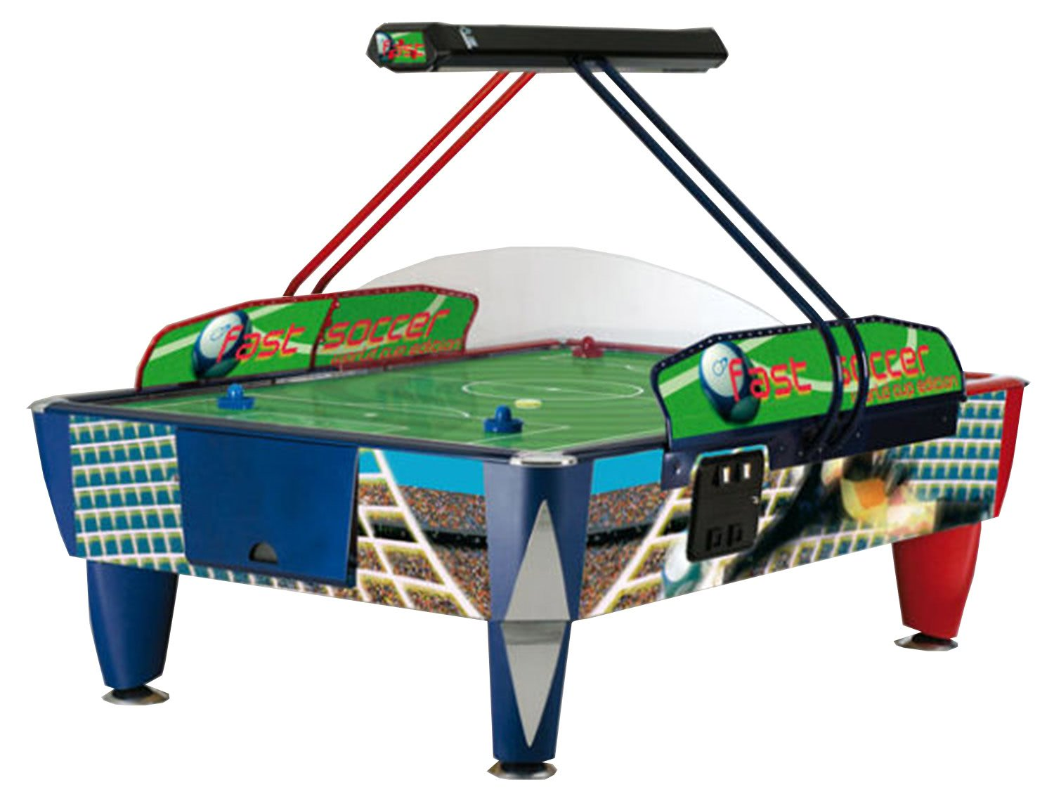 Sam double fast soccer 8 foot commercial air hockey table for Table hockey