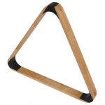 2 1/4'' Natural Coloured Deluxe Triangle for 15 Billiard Balls