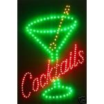 Cocktails LED Wall Sign